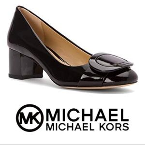 MK Michael Kors Pauline Patent Mid-Heel Pump 8